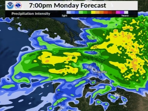 Widespread Rainfall Prompts Flood Watch In Several Counties
