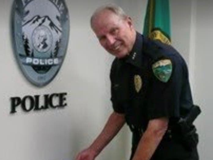 Michael Knapp's 75th Birthday Celebration at the Ferndale Police Department