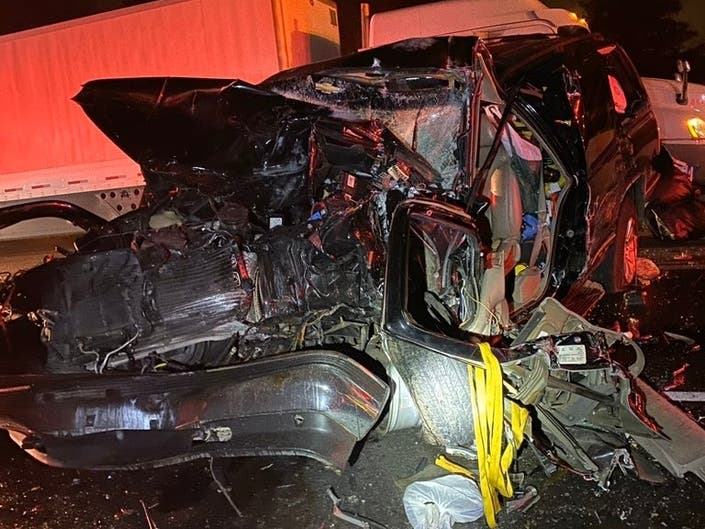2 Lanes Reopen After Major Crashes On Interstate 5 In Lakewood