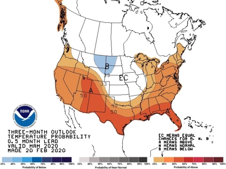 NOAA Predicts A Warmer Spring In Western Washington