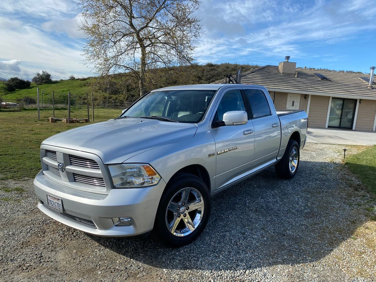 2011 Dodge Ram 1500 Sport Quad Cab Banning Ca Patch