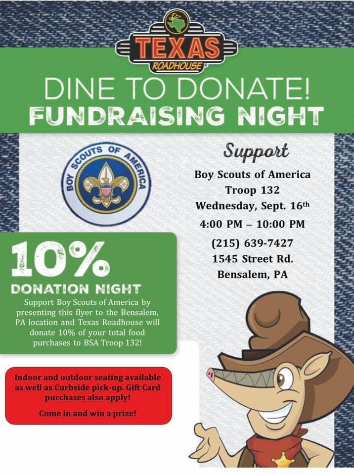 Support Scouts BSA Troop 132