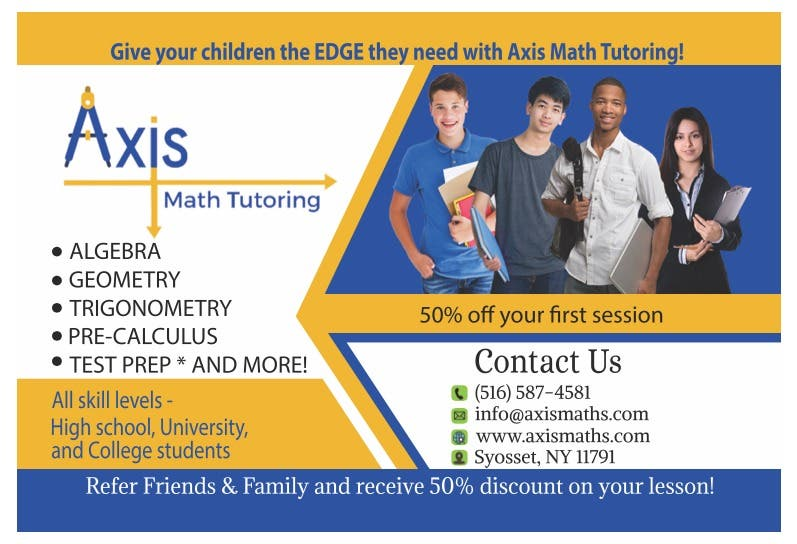 Local Classified: Math Tutoring for High School and College Students