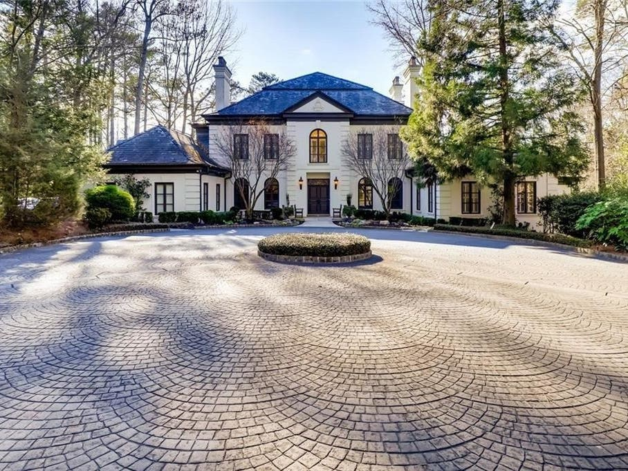 Just Listed: Here's One Of Buckhead's Most Expensive Homes