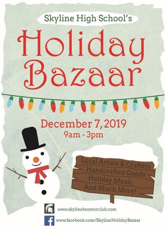 Skyline High School Holiday Bazaar