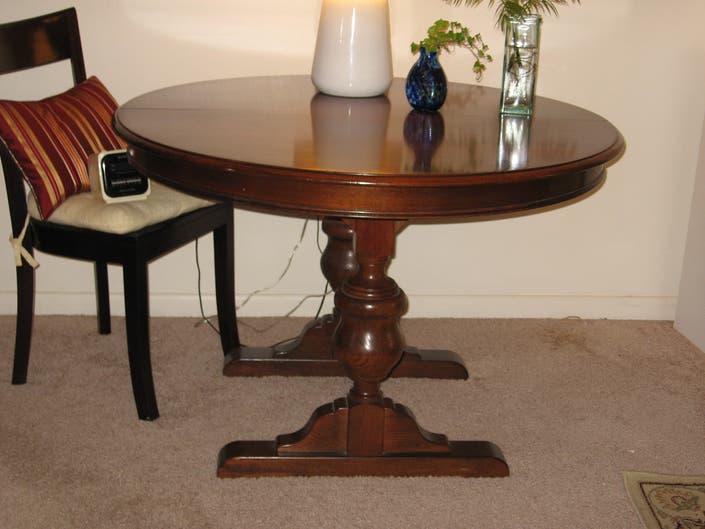 Astounding Beautiful Free Dining Room Table Must Pick Up From Third Inzonedesignstudio Interior Chair Design Inzonedesignstudiocom