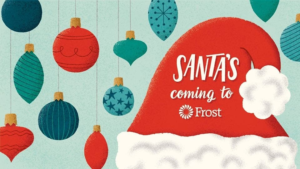 Dec 7 | Santa's Coming to Frost | Dallas, TX Patch