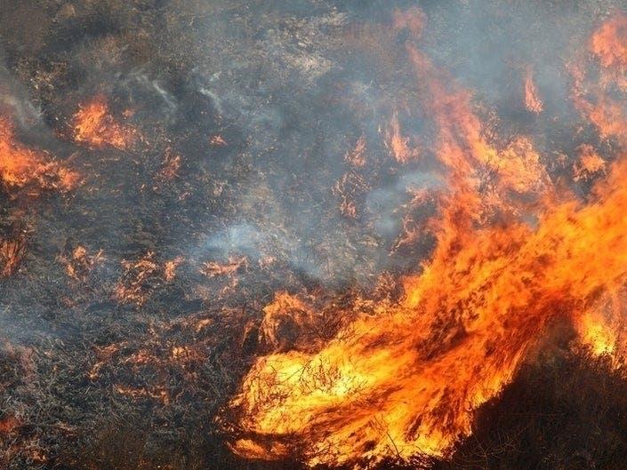 Altamont Pass Fire Prompts Sig Alert
