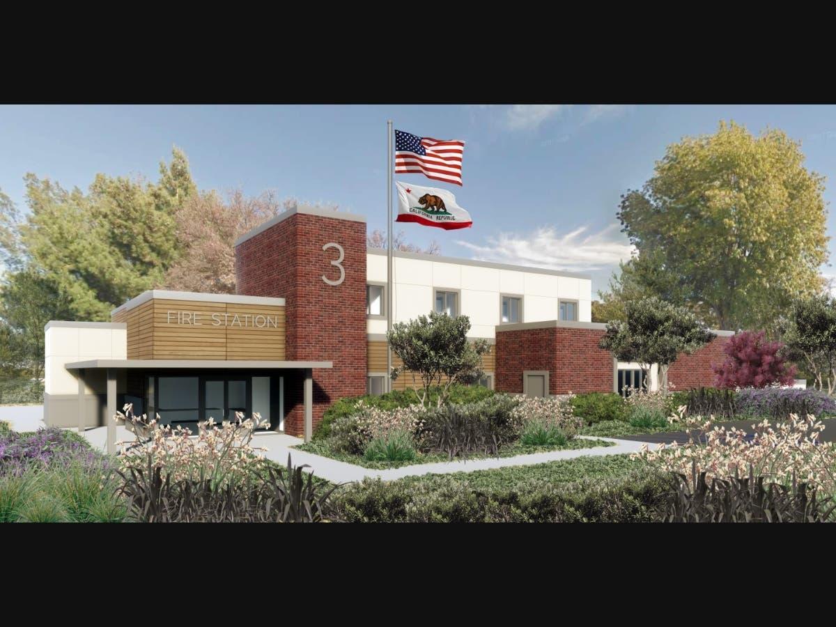 Pleasanton Gets Temporary Fire Station On Stoneridge Drive
