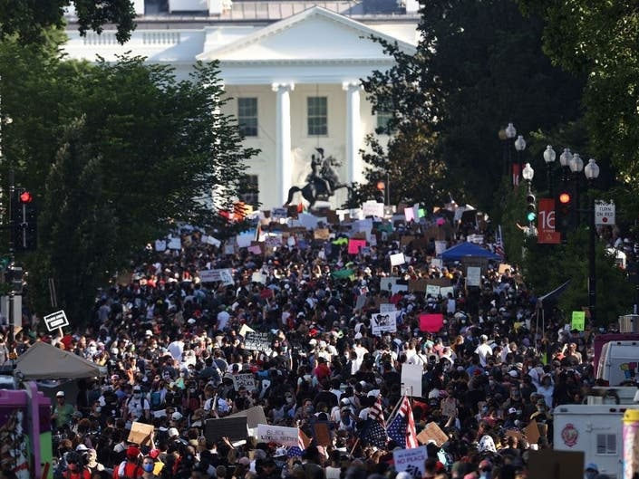 DC Protests: Thousands Pour Into City To Protest Police Brutality ...