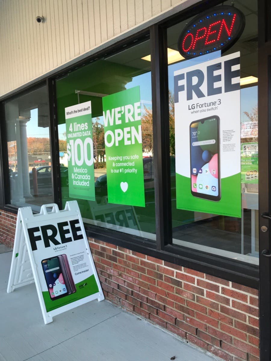 Switch to Cricket and get FREE Phones!