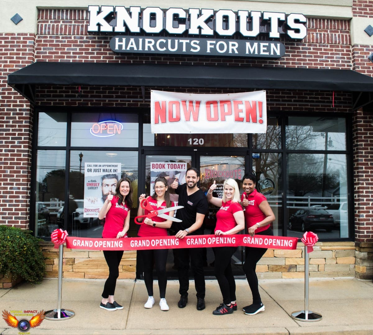 Jan 17 Grand Opening Knockouts Haircuts For Men Roswell Ga Patch