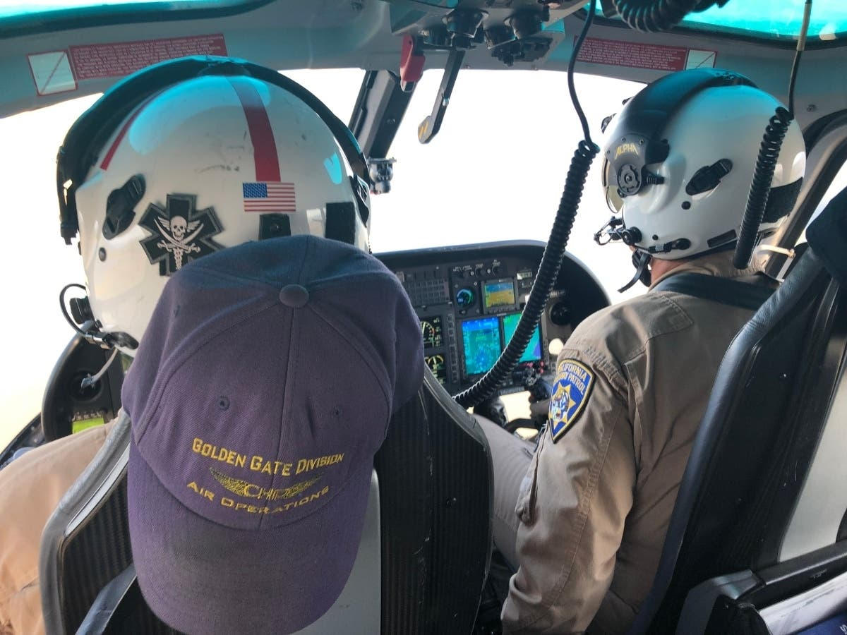 Suspect In 3-County Chase Caught Thanks To CHP Helicopter Crew