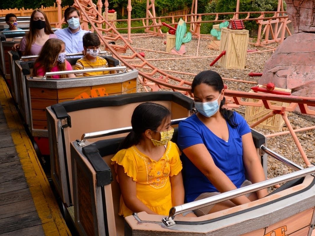Six Flags Discovery Kingdom: New Health Guidelines For Reopening