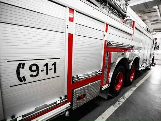 2 Firefighters Injured Battling East County House Fire