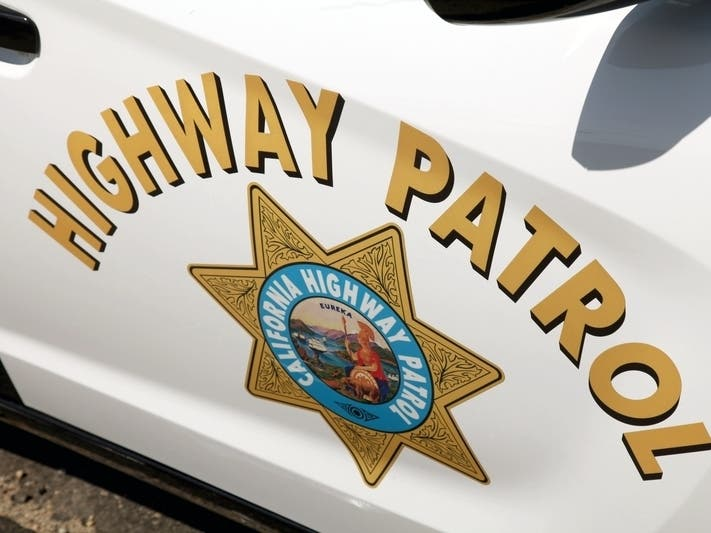 CHP Officer Hit By Suspect's Car In Hemet
