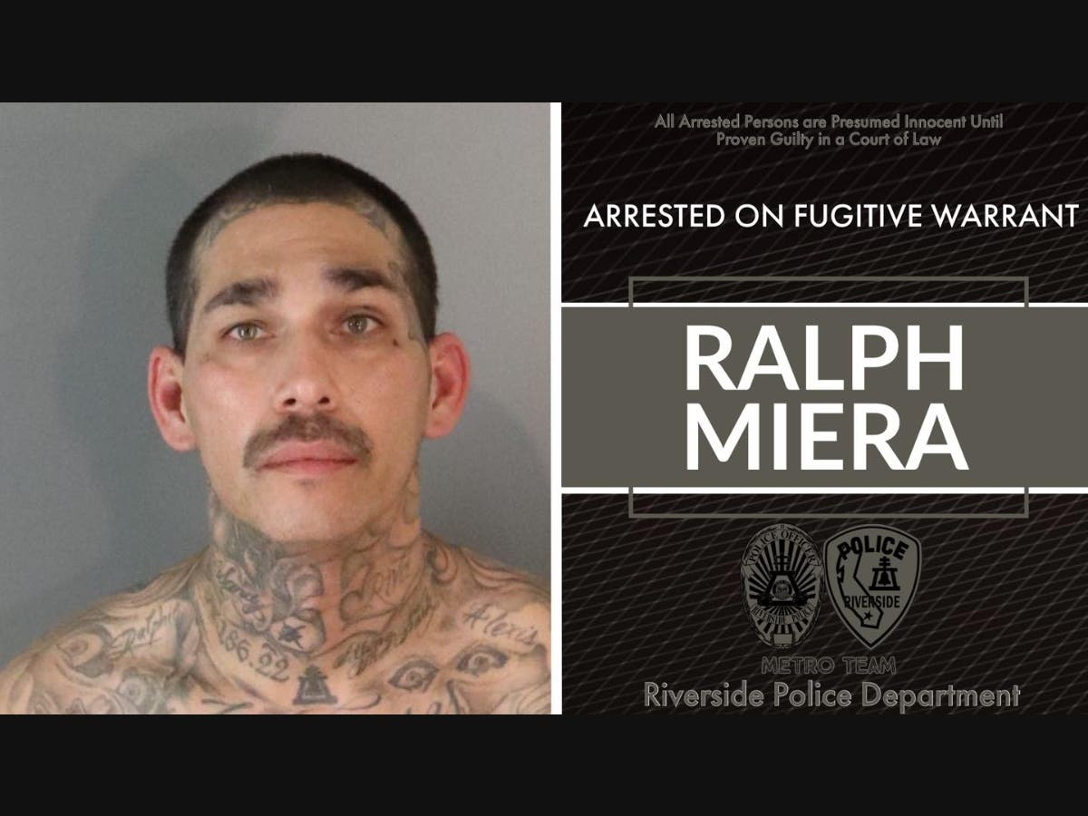 Fugitive Accused Of Armed Kidnapping Captured In Riverside