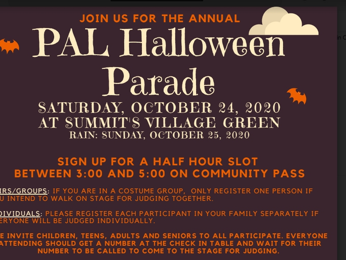 Halloween Parades Springfield Mo 2020 Summit Announces Halloween Parade And Hike; Police Give Guidance