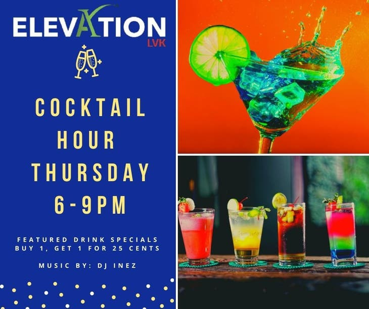 Cocktail Hour Thursday - Featured Drink Specials