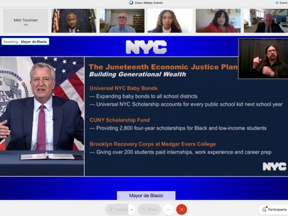 NYC Honors Juneteenth With Sweeping 'Economic Justice Plan'