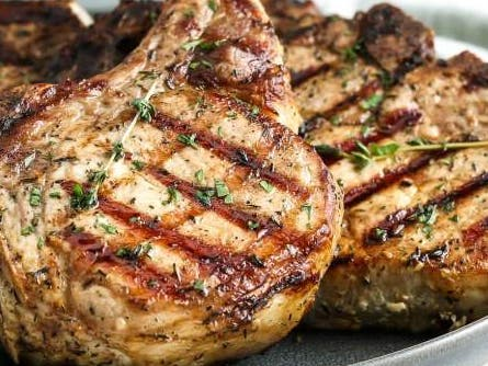 Monthly Pork Chop grill