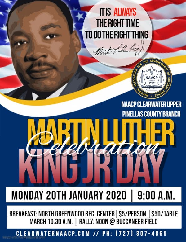 Jan 20 | NAACP 37th Annual Dr. Martin Luther King Jr. Day ...
