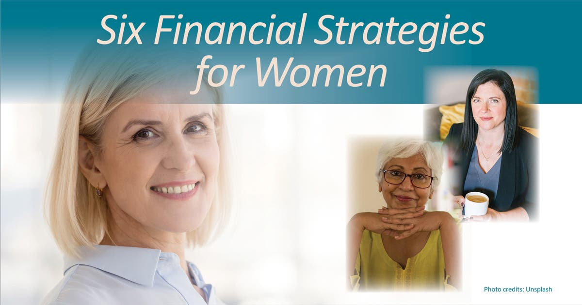 Six Financial Strategies for Women: 10am, Noon, or 5pm
