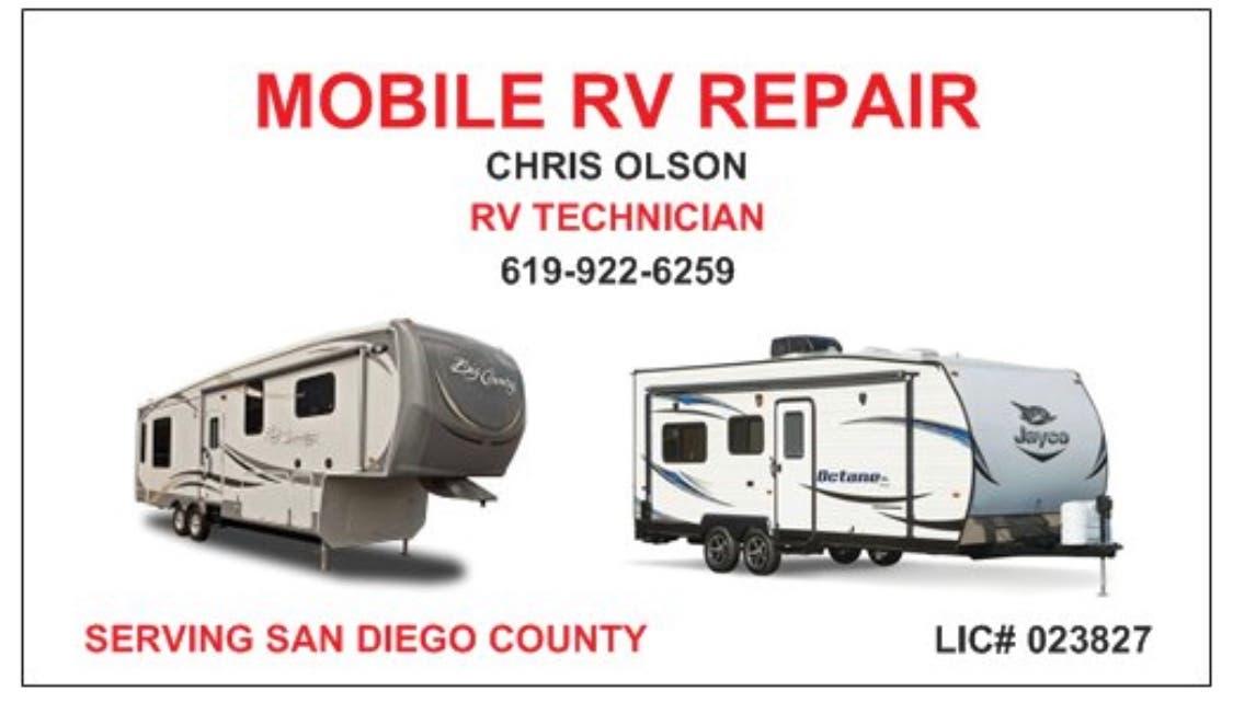 Mobile Rv Repair San Diego Ca Patch