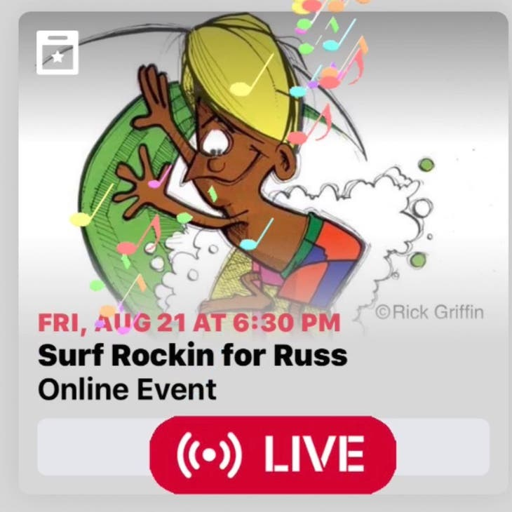 Surf Show Charity Stream