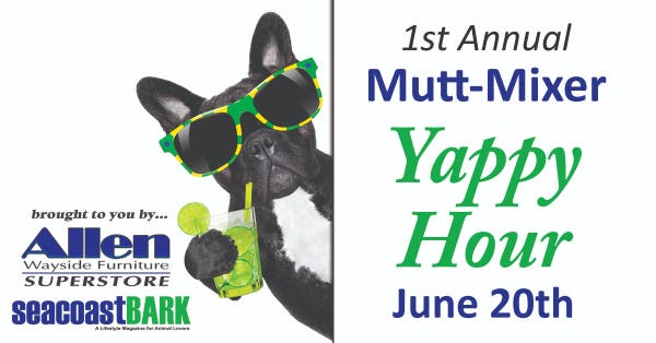 Jun 20 1st Annual Mutt Mixer Yappy Hour For Pups Amp Their