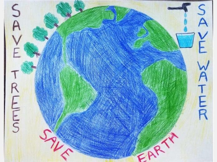 2 San Diego County Children Win Virtual Earth Day Art Contest