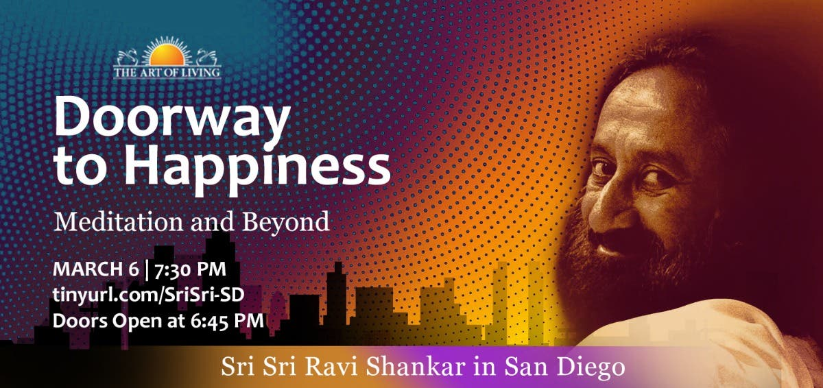 Public talk 'Doorway to happiness: meditation and beyond'