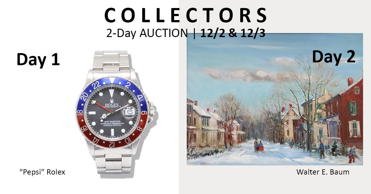 Local Event: Collectors Auction 2-Day Online Event