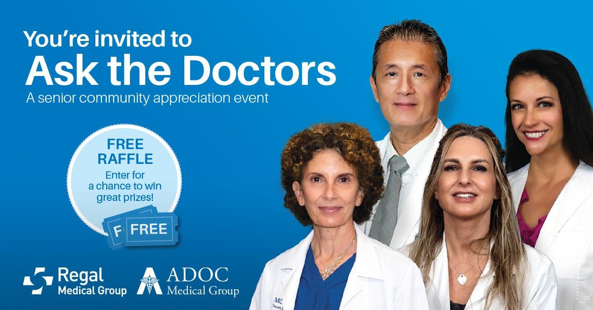 Ask the Doctors: A Senior Appreciation Event