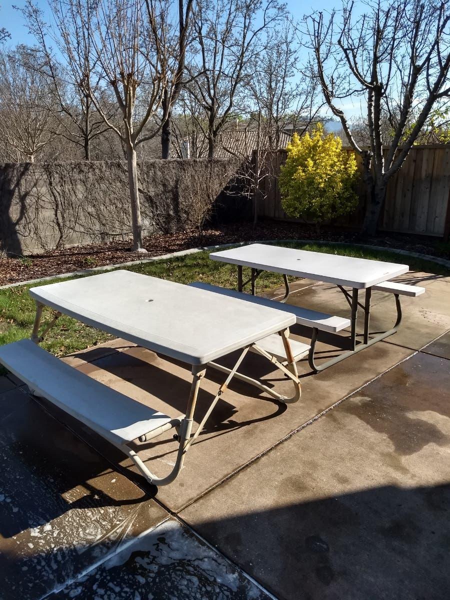 - Lifetime 6' Folding Picnic Table = $40 - Danville, CA Patch