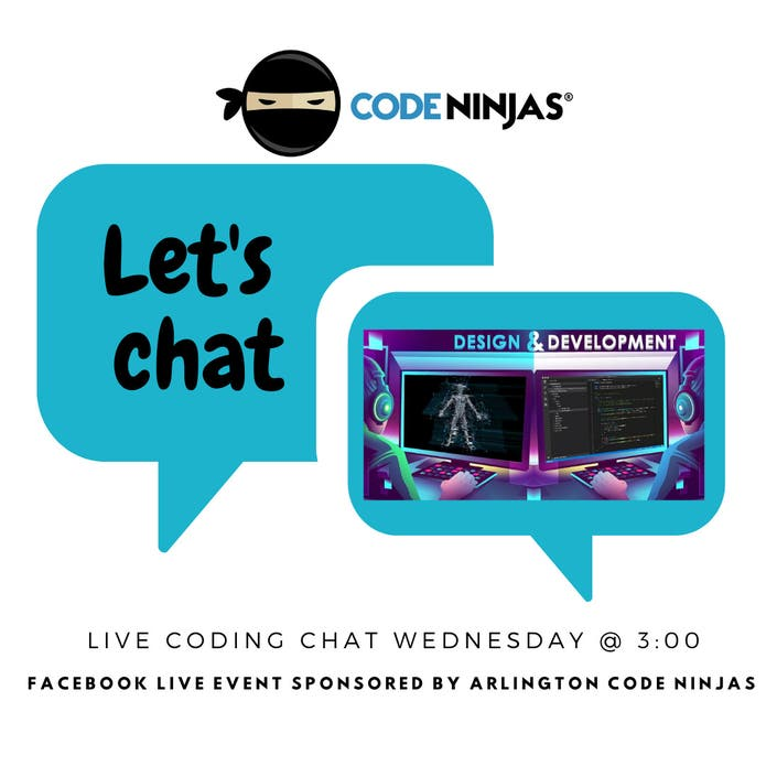 Coding Chat-Ask a real Video Game Designer!