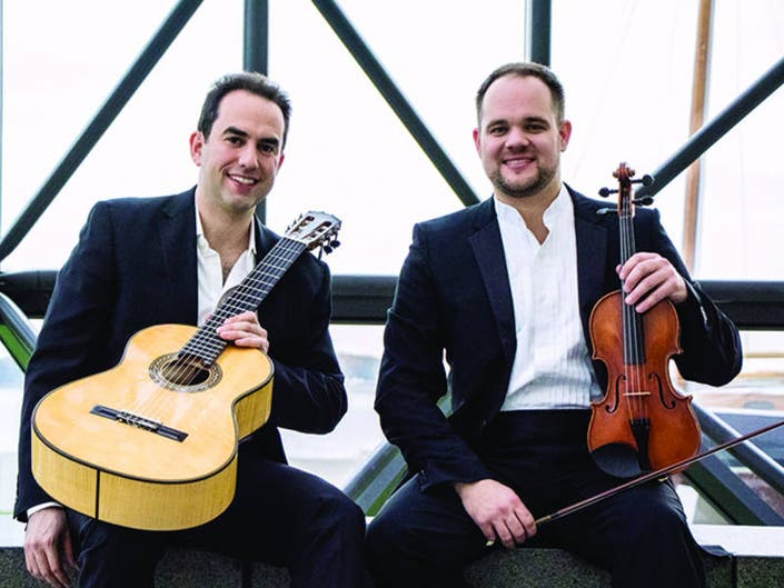 MCC Spring Concerts Conclude with Classical Guitars & Violin