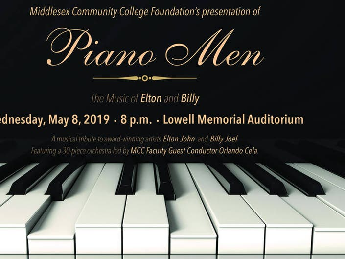 Tickets Still Available for MCCs Piano Men Fundraiser