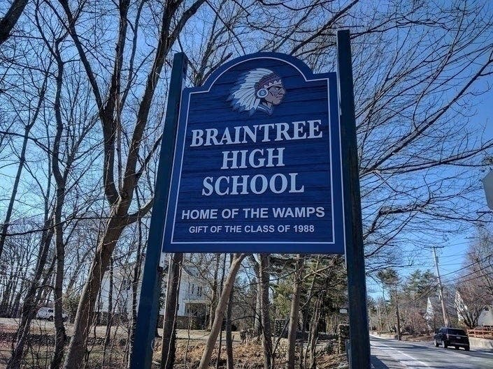 Topic Of Braintree Wamps Mascot, Logo Returns To School Committee