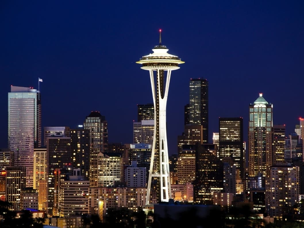 Space Needle Reopens With High-Tech Coronavirus Protections