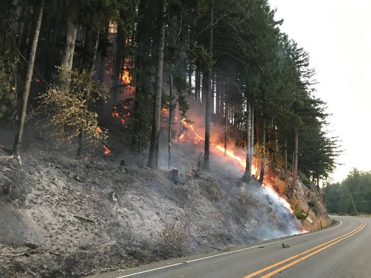 South Sound Wildfires Cause Closures, Evacuations, Power Outages
