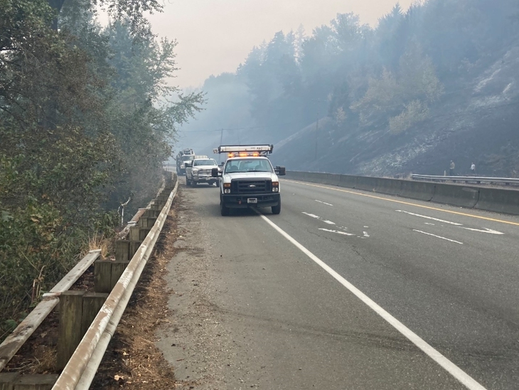 State Route 410 To Remain Closed Through Next Week Due To Fires
