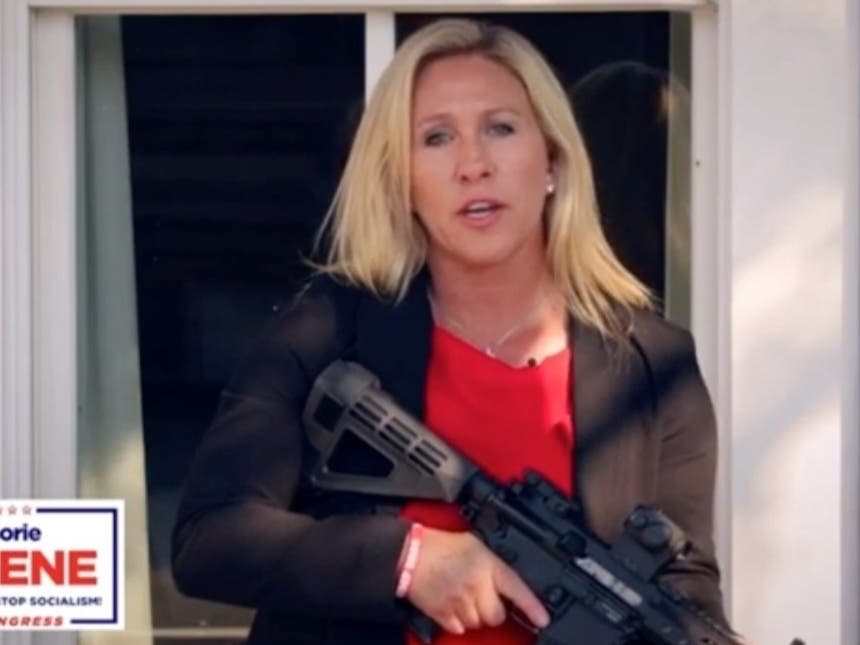 GOP House Candidate Warns Antifa 'Stay The Hell' Out Of NW GA