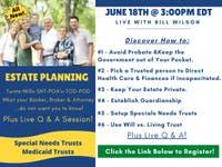 Free Estate Planning & Living Trust Workshop Live Q&A Friday 3PM