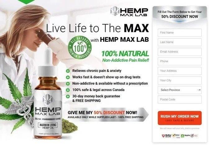 Hemp Max Lab Canada