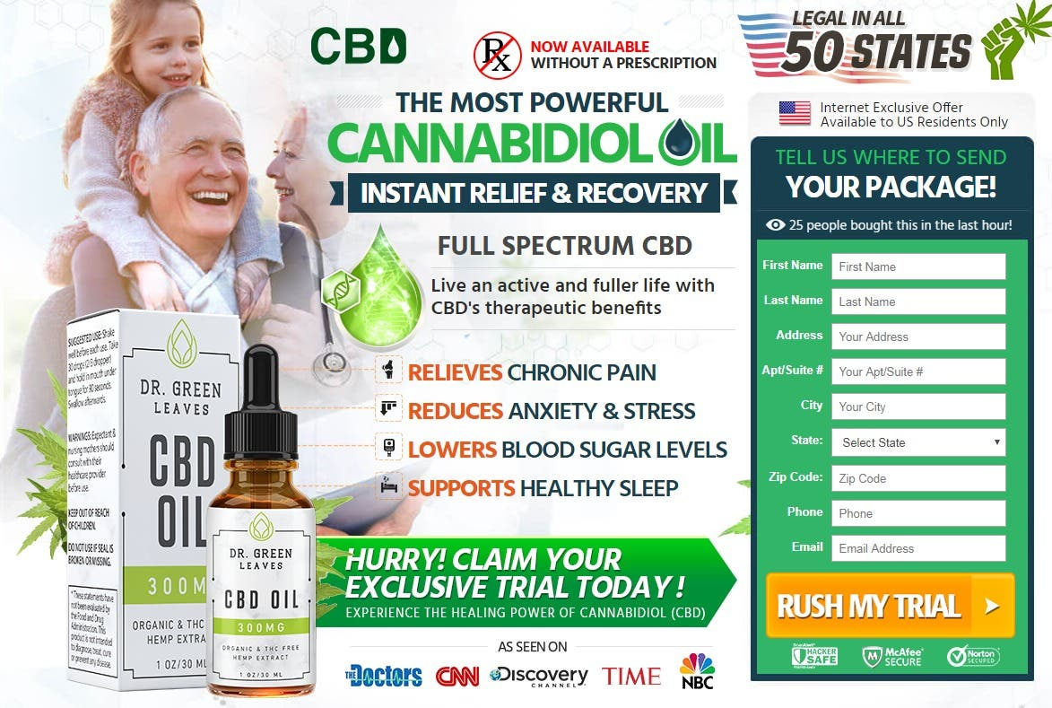 Green Leaves CBD Oil UK