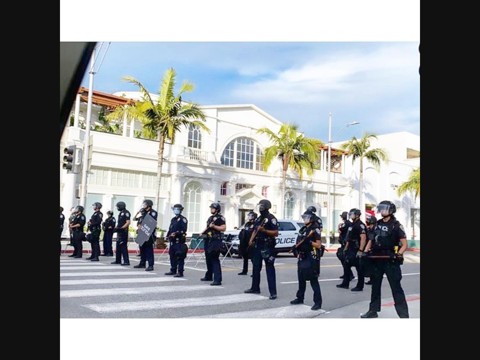 Beverly Hills Calm As Chauvin Verdict Announced | Beverly ...