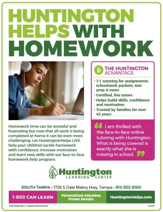 Homework help flyer