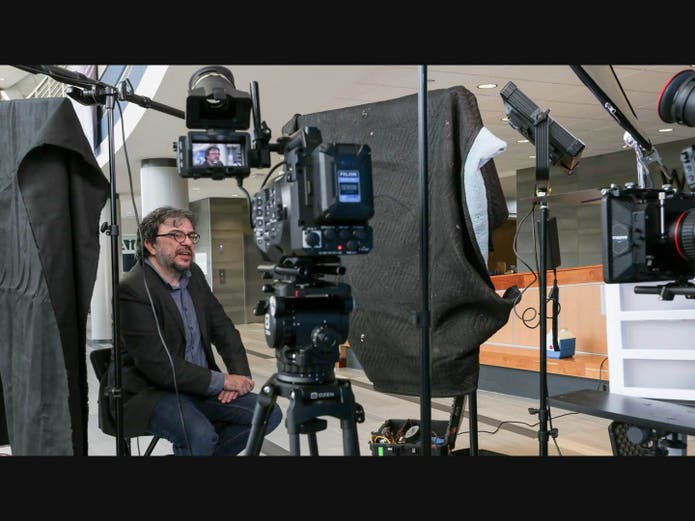UAH molecular biophysicist Dr. Jerome Baudry was interviewed for a Hewlett Packard Enterprises video about his use of a supercomputer to find naturally occurring compounds with potential efficacy against COVID-19.