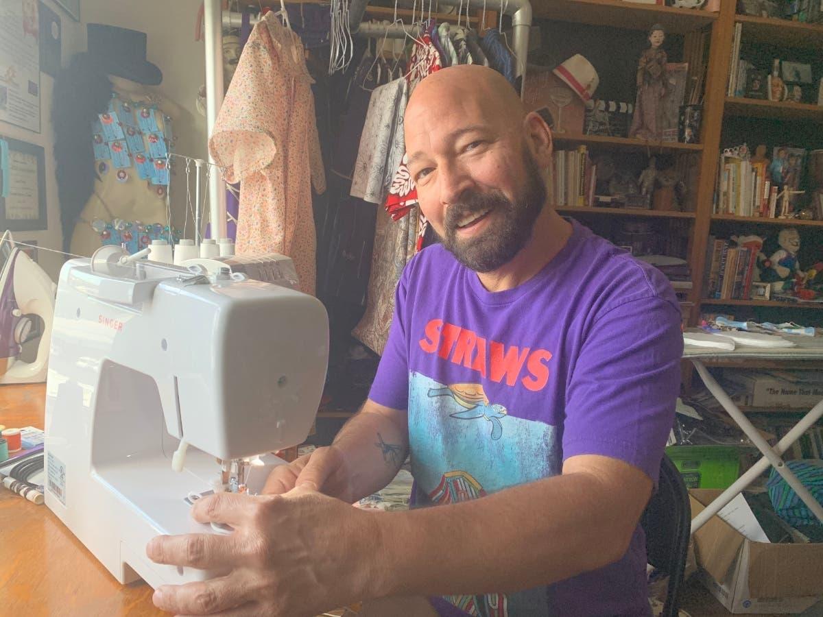 St. Pete Bartender Makes Masks Out Of Liquor Bags: Coronavirus